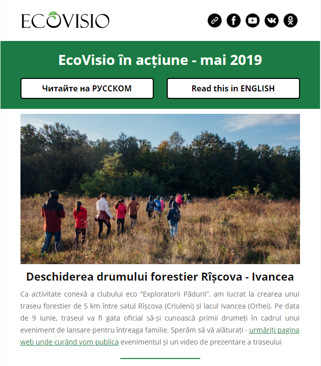 Newsletter RO May 2019