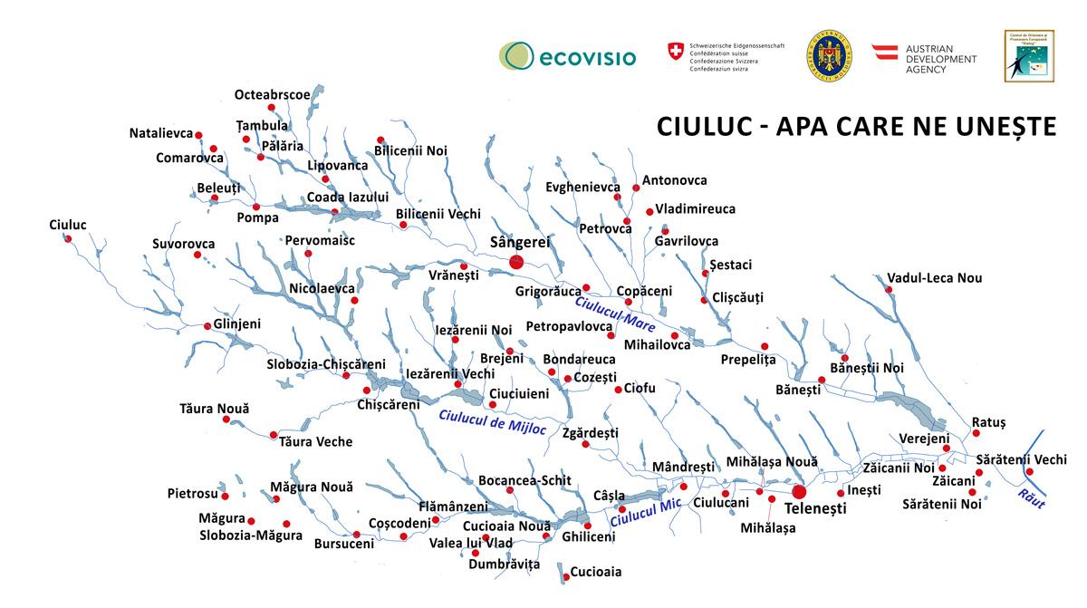 ActiveCiuluc harta bazinului