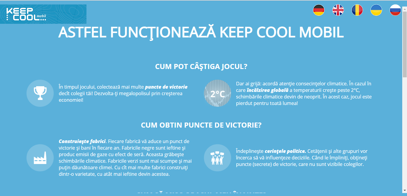 KeepCool Mobile Rules RO