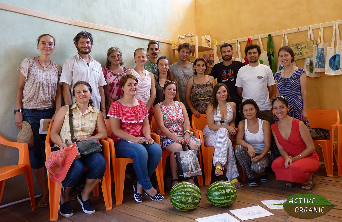 ActiveOrganic fifth seminar 5 august 2017